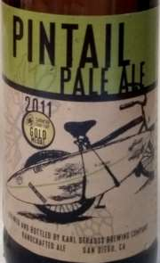 Pintail Pale Ale Etikett