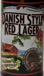 Danish Style Red Lager Etikett