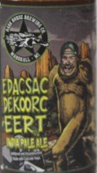 Dark Horse IPA - EDASCSAC DEKOORC EERT Etikett