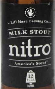 Nitro Milk Stout Etikett