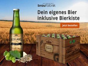 Eigenes Bier -Braufabrik