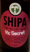 SHIPA Vic Secret Etikett