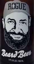 Rogue Beard Beer Etikett