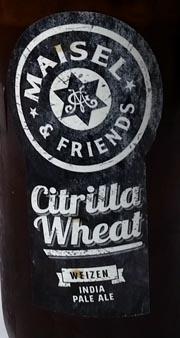 Citrilla Wheat IPA Etikett