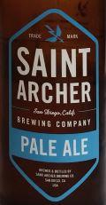 Saint Archer Pale Ale Etikett