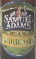 Samuel Adams Latitude 48 IPA Etikett