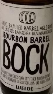 welde bourbon barrel bock_etikett