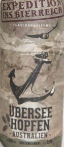 Inselbrauerei Überseehopfen etikett