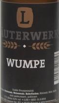 Läuterwerk Wumpe Etikett