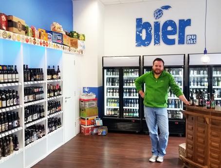 Kilian Küsters Inhaber des Bierfachgeschäft Bier.
