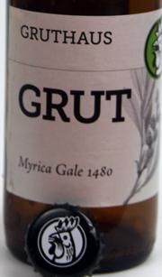 Grut Bier Etikett