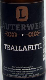 Läuterwerk Trallafitti Etikett