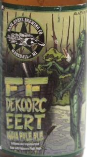 Dark Horse Etikett FF
