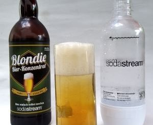 SodaStream Blondie im Glas