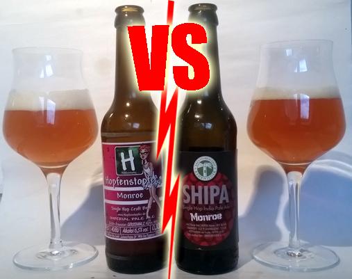 Beer Battle: Hopfenstopfer vs Shipa