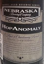 HopAnomaly Etikett