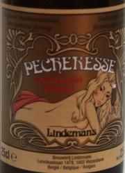 Lindemans Pecheresse Etikett