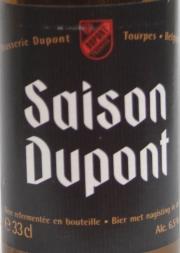 Saison Dupont Etikett