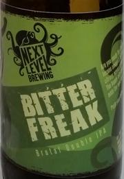 Bitter Freak BDIPA Etikett