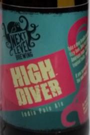 Next Level Brewing - High Diver IPA Etikett