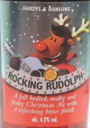 Rocking Rudolph Christmas Ale Etikett