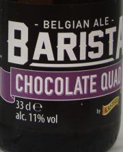 Barista Chocolate Quad Etikett