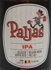 Belgian IPA Paljas Etikett