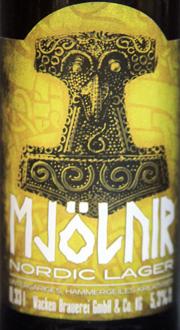 Mjölnir Nordic Lager Etikett