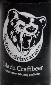 Berliner Schwarze Etikett