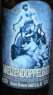 Wacken Weizendoppelbock Etikett
