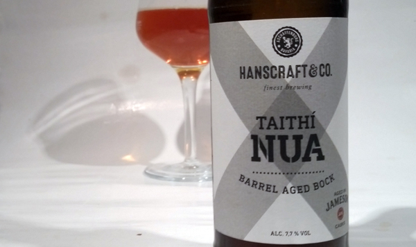 Taithi Nua Flaschendesign