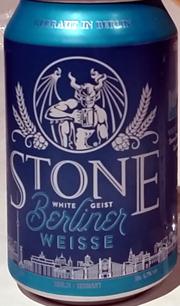 Stone Berliner Weisse Etikett