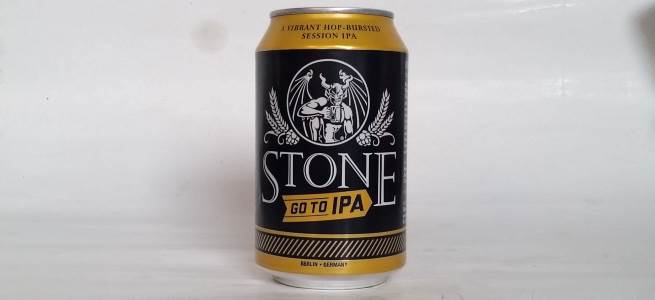 Stone Go To IPA Etikett