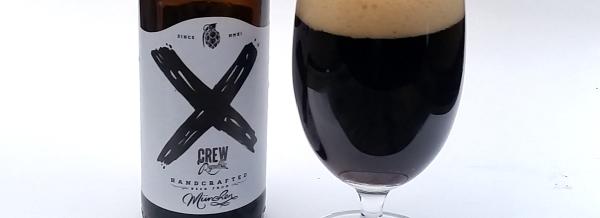 Crew Republic X 8.0 Black IPA Etikett