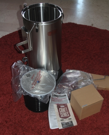 Grainfather Brauanlage Lieferumfang