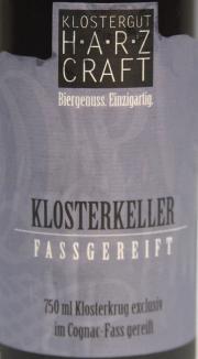 Klosterkeller Etikett