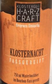 Harz Craft Klosternacht Etikett