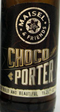 Maisel & Friends Choco Porter Etikett