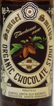 Samuel Smiths Organic Chocolate Stout Etikett
