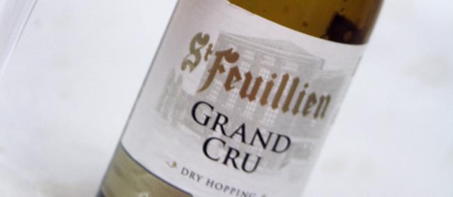 St Feuillien GRAND CRU Etikett