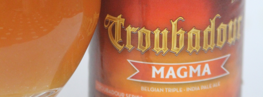 Troubadour Magma IPA Etikett