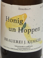 Kemker Honig un Hoppen Etikett