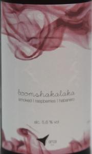 Orca Brau boomshalalaka Etikett