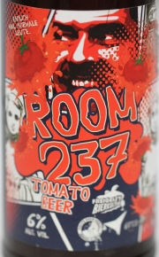 ROOM 237 TOMATO BEER Etikett