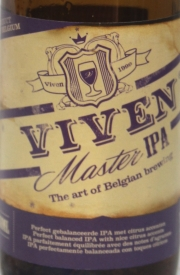 Viven Master IPA Etikett