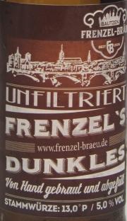 Frenzel Dunkles Etikett