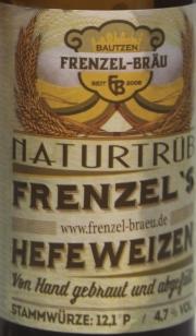 Frenzel Hefeweizen Etikett