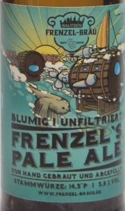 Frenzel Pale Ale Etikett