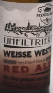 Frenzel Red Ale Etikett