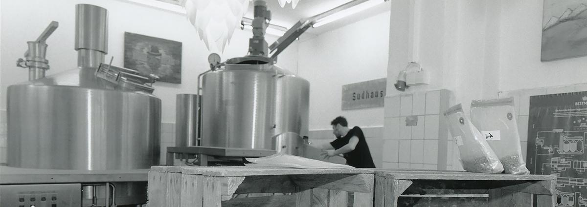 Hopfenhäcker Sudhaus Brauanlage